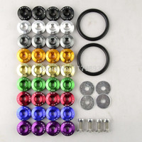 Wholesale Password JDM Quick Release Fasteners kit are ideal for front bumpers rear bumpers and trunk car hatch lids