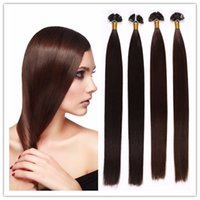 Cheap cheap Remy Keratin Flat Tip Hair Extensions Capsule PreBonded fusion Human Hair Extensions 1G S 100G PC 300G LOT STOCKING Free Shipping