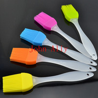 Wholesale Clourful Small Size Silicone Cake Butter Brush Practical BBQ Brushes Baking Tools Cook Tools