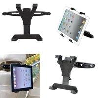 car holder for 7 inch tablet - Universal Car Back Seat Headrest Mount Holder Stand Bracket Kit for iPad Mini for for inch Tablet for GPS DVD with retail box