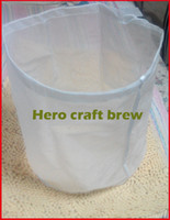 Plastic batch fines - 5 gallon fine mesh food grade home brew mash filter bag for batch homebrew filter bag bucket can be customized free shiping