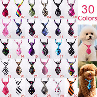 Wholesale Adjustable Dog Cat Pet Lovely Adorable sweetie Grooming Tie Necktie Wear pattern Clothing Products Sale