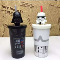 Wholesale New Star Wars cup Darth Stormtrooper Ceramic water bottle tea cup Creative Gift Cartoon Children Christmas Gift with box G217