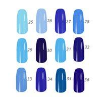 Wholesale Royal Blue Series MIJIQUAN Gel Nail Polish15ml colors for choice