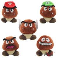 big mario games - new style Super Mario Poisonous mushrooms stuffed toys mario party toys kids gift pieces set