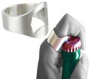 Wholesale 300pcs New Stainless Steel Finger Ring Bottle Opener Beer Bottle Opener Kitchen Tools