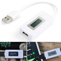 Wholesale LCD USB Charger Doctor Pressure Voltage Current Amp Sensor Detector Power Supply LY370