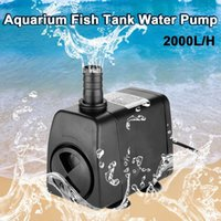 Wholesale 2000L H GPH Aquarium Water Pump EU Plug with Low Energy Consumption for Fish Tank Pond Pump