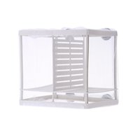 Wholesale Net Hanging Fry Baby Fish Hatchery Isolation Box For Fish Breeding Incubator Aquarium Accessory XL L