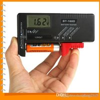 Wholesale Universal Portable Digital Battery Tester Battery Power Level Meter BT for V V Battery