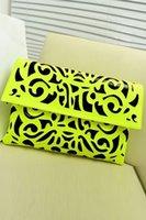 Wholesale 4 Colors New Autumn and winter PU Lime Retro Patterned Party Clutch Bag LC74030 shoulder women s handbag