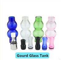 Precio de Hierbas vaporizador globo-Precio Fatory Coloful doble globo de cristal cubierta atomizador cera hierba seca vaporizador y el depósito de vidrio de reemplazo tipo de calabaza de vapor libre de DHL