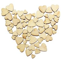 Wholesale New Fashion App cm Mini Love Heart Style Wedding Decorating Wooden Scrap Booking Craft Card