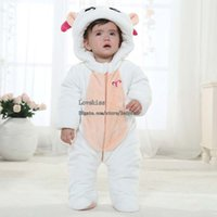 baby winter clothes - Children Clothes Kids Clothing Baby One Piece Romper White Rompers Boys Girls One Piece Clothing Baby Dress Winter Jumpsuit Rompers L43874