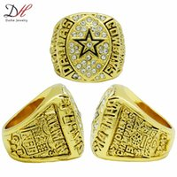 Wholesale New Arrival Jewelry Ring Super Bowl Dallas Cowboys Championship Ring Gold Custom Championship Rings Personalized Rings