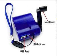 Cheap 500pcs lot hot sale USB Hand Power Dynamo Torch Charger for cellphone mp3 4 ect.
