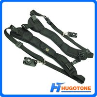 Wholesale New Dual Sling Shoulder Rapid Neck Straps Adjustable Nylon Double Straps Belt for All SLR DSLR For Binocular Canon Nikon Sony Camera