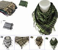 arab scarf - HOT Military Windproof Shemagh Tactical Desert ARAB Scarves Hijabs Scarf Cotton