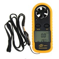 air temperature thermometer - GM816 Inch LCD Handheld Pocket Digital Anemometer Wind Speed Air Flow Meter Temperature Gauge Thermometer