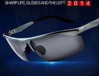 Wholesale polarized sunglasses for men driving mirror Outdoor Sports Eyewear Sunglasses TR90 Frames Ultra light Anti wind fishing cycling sunglasses