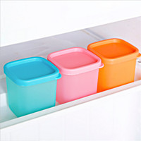 small plastic boxes - Kitchen Accessories Snacks Small Plastic Container Box Cooking Tools Food Container Candy Box Kitchen Organizer Storage Box