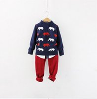 b boy pictures - Y B lt New Winter Boy Sweater Elephants Picture Toddler Boy s Pullovers O Neck