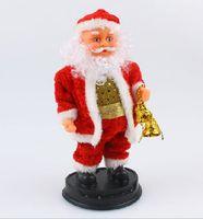 Wholesale Musical Christmas Moving Figure Christmas Gifts Christmas items Santa Claus