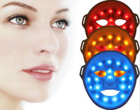 Wholesale LED light face mask skin led mask manual LED Light Therapy LED facial mask tightening our skin restraining acne eliminating wrinkles