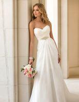 Cheap Vestidos De Novia Sexy Chiffon Beach Wedding Dress Vintage Boho Cheap Wedding Dress 2015 Robe De Mariage Bridal Gown Casamento
