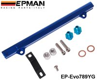 Wholesale EPMAN Top feed Injector Fuel rail kits for Mitsubishi G63 EVO Have In Stock EP Evo789YG TK Evo789YG