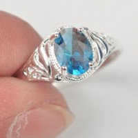 Wholesale mixed colors sizes silver jewelry ring cz rings jewelry rings