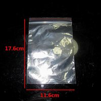 Wholesale High Quality x17 cm PE Self Sealing Zip Lock Plastic Bags packaging bags