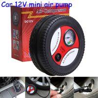 Wholesale Mini tyre inflatable pump v PSI car air pump car air pump electric inflator inflationists DHL