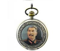 Wholesale new arriving Marx Lenin Stalin classic Vine Pocket Watch unique pocket watch best low price quartz pocket watch