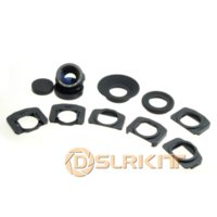 Wholesale 1 x x zoom viewfinder eyepiece magnifier for Canon D II D D D D D D canon d mark ii