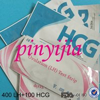 Wholesale By DHL Pieces Ovulation LH Test Strip Pregnancy HCG Test Strip CE And FDA Certificate