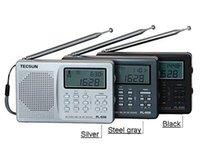 achat en gros de tecsun radio-Gros-Livraison gratuite Tecsun PL-606 Digital PLL Portable AM / FM LW / MW / SW multiples bande Récepteur radio avec DSP