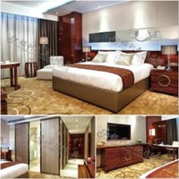 Wholesale 2015 good quality fashion hot high quality Chinese Wooden Hotel Bedroom Furniture Set in dongguan factory