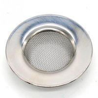 bathtub trap - Stainless Steel Bathtub Hair Catcher Stopper Shower Drain Hole Filter Trap Metal Sink Strainer