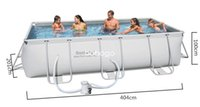 Wholesale family swimming pool large pool oversized family stand outdoor swimming pools for adults size cm