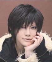 Cheap Zhang Ling Wan with short hair turn Alice anime cosplay wig Yiwu cosjiafa game characters