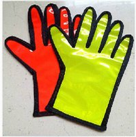 airport safety - 2 Colors Traffic Safety Command Airport Command Special Reflective Gloves Security Command Gloves Parking Command Gloves LJJC1794