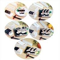 Wholesale 1 Set Sushi Master Maker Kit Rice Mold Make Set Kitchen Tools With Recipe
