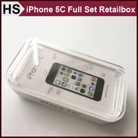 apple earpods - Full Set iPhone C Retail Box USB Cable Wall Charger EarPods Sticker US EU UK AU Version Free DHL Shipping