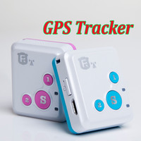 alert communications - Mini RF V18 GPS Personal Tracker Quad Band GSM LBS Monitor voice communication SOS APP Location Tracking System alert For Kids Elder