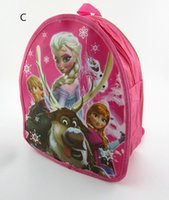Wholesale Frozen backpack frozen school bag kids school backpacks child small school bags for girls Size years cm