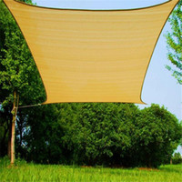 Wholesale Shade Sail Patio Covers Outdoor Size M M Square Rectangle Backyard Shade Sails Brand New Home and Garden Sun Sail Shade Canopy