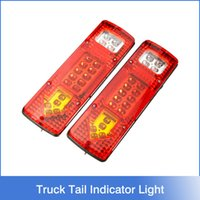 lorries - 2x LED UTE Truck Trailer Lorry Caravan Stop Rear Tail Indicator Light Lamp