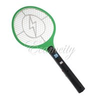mosquito racket - Rechargeable LED Electric Insect Bug Fly Mosquito Zapper Swatter Killer Racket Safe layer Net