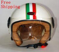 helmets - Genuine factory motorcycle helmet Unisex The national flag of Italy Harley helmet Fashion style
